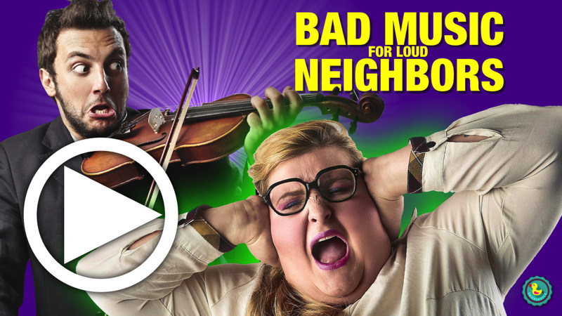 Video of best CD to shut up your neighbors